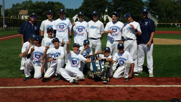 The 2014 July 4th Tournament Champs CGI Braves 15 U