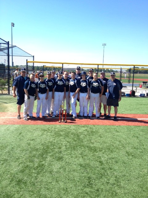 The 2014 July 4th 14U Champs...The Connecticut Bluejays