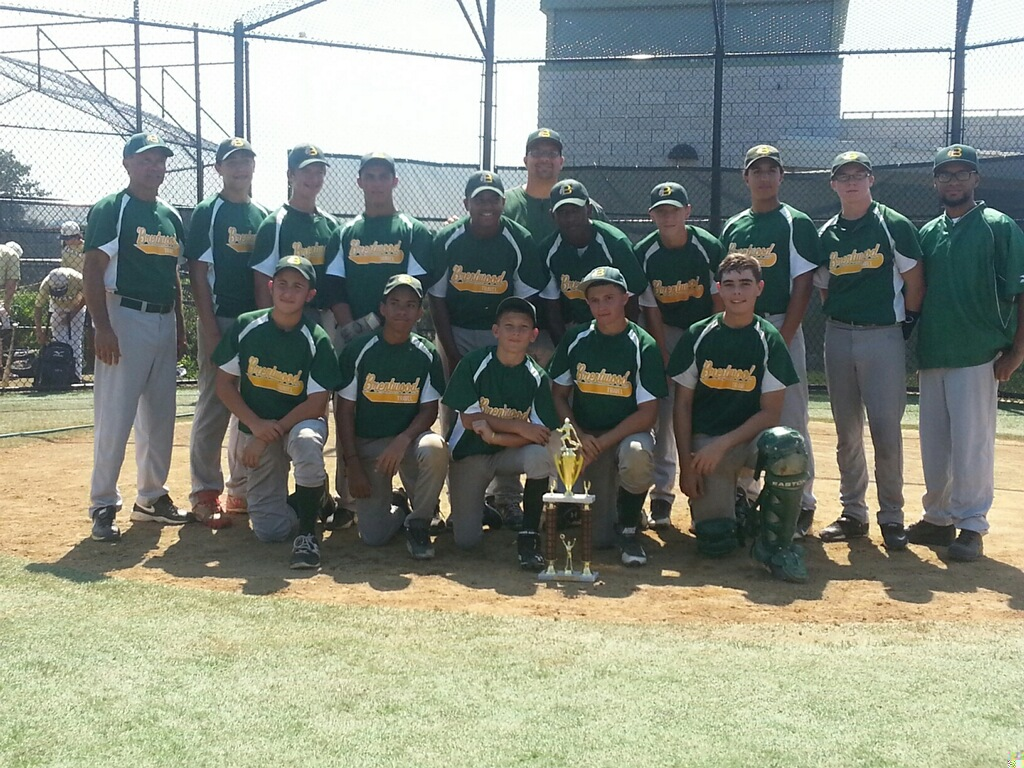 The 2014 Brentwood Travel Baseball Labor Day Champions 14U The Brentwood Braves