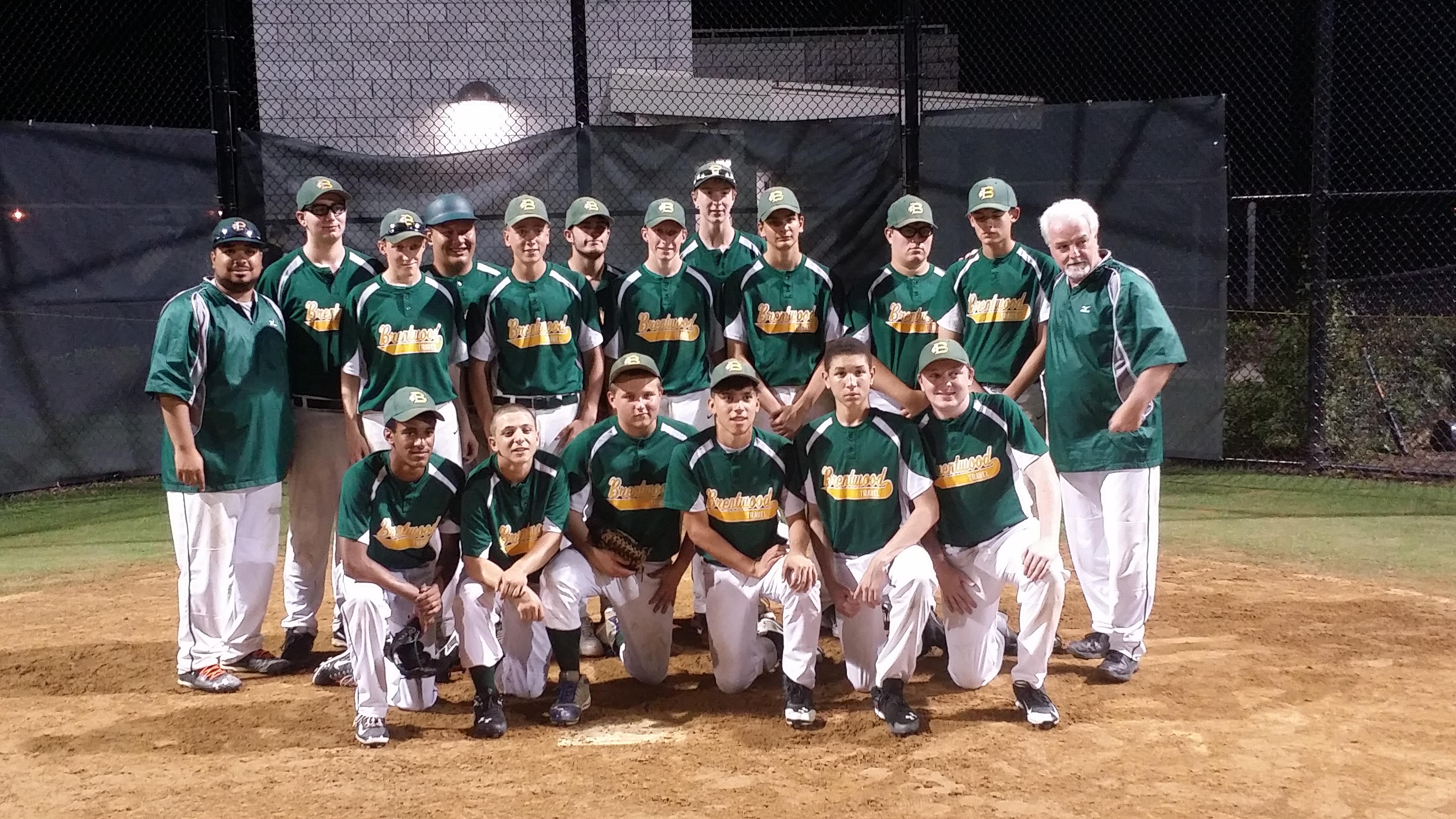 2015 Braves 16U Green